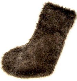 Unique Living Albury fake fur stocking