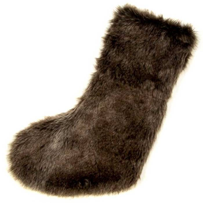 Unique Living Albury fake fur stocking