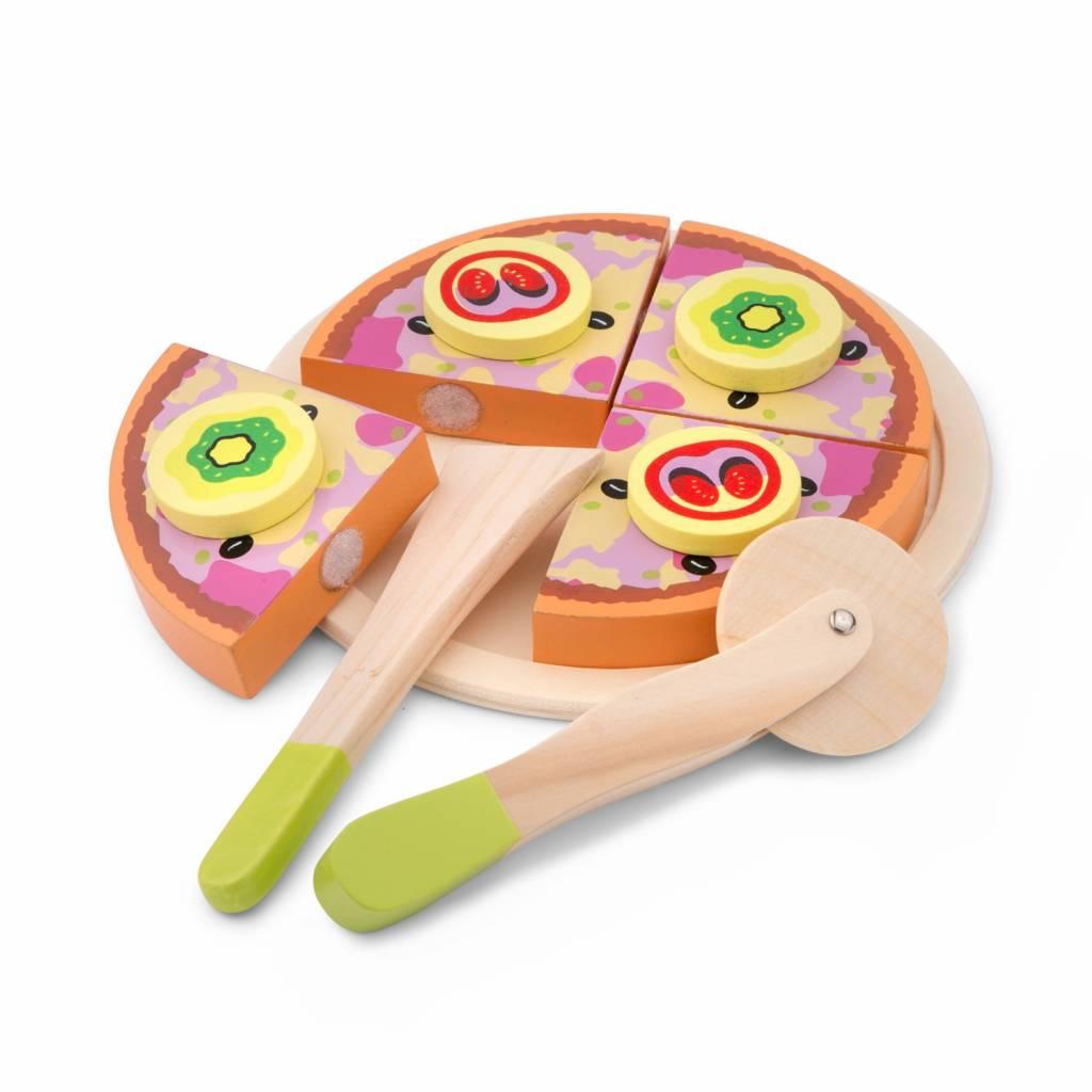 New Classic Toys Snijset - Pizza