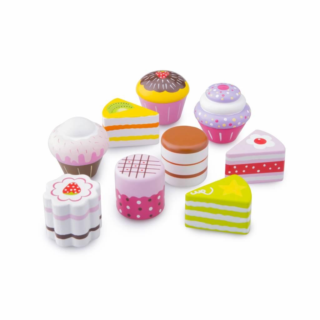 New Classic Toys Cake/Gebak Assortiment in Geschenkdoos - 9 stuks