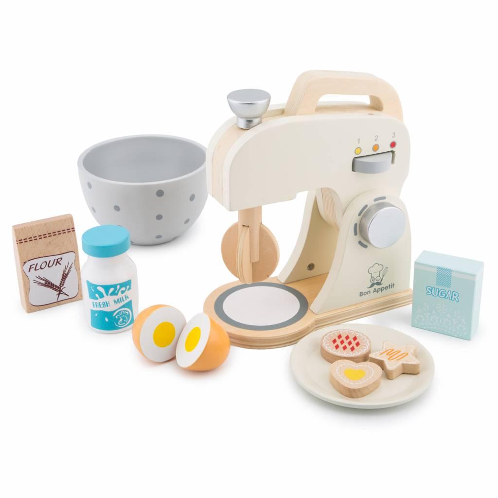New Classic Toys  Mixer Set - Wit