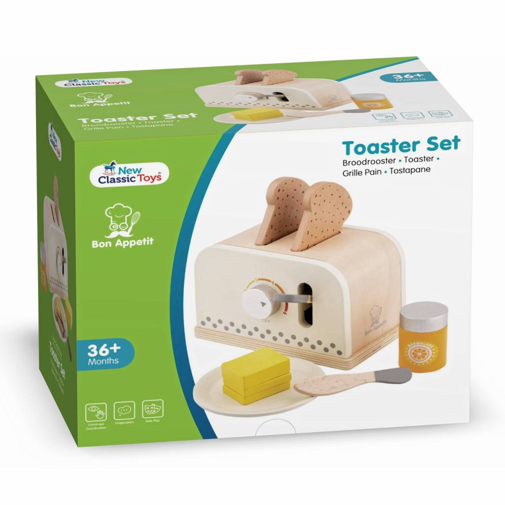 New Classic Toys  Broodrooster - Set - Wit