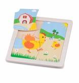 New Classic Toys Mini Puzzel Kip