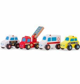 New Classic Toys Voertuigenset - 4 auto's