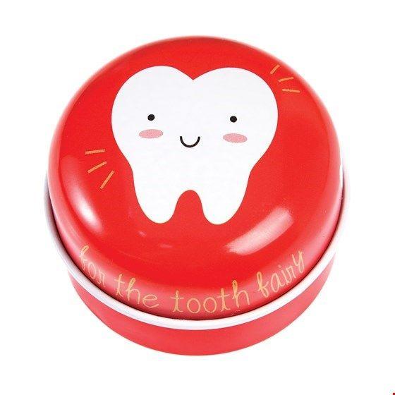 Rex London Tandendoosje Tooth Fairy Rood