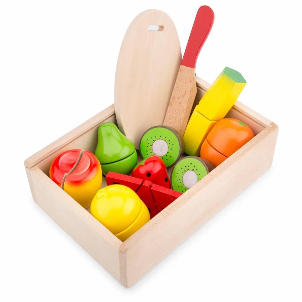 New Classic Toys Snijset - Fruit Box