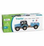 New Classic Toys Tractor met Aanhanger - Melkbus