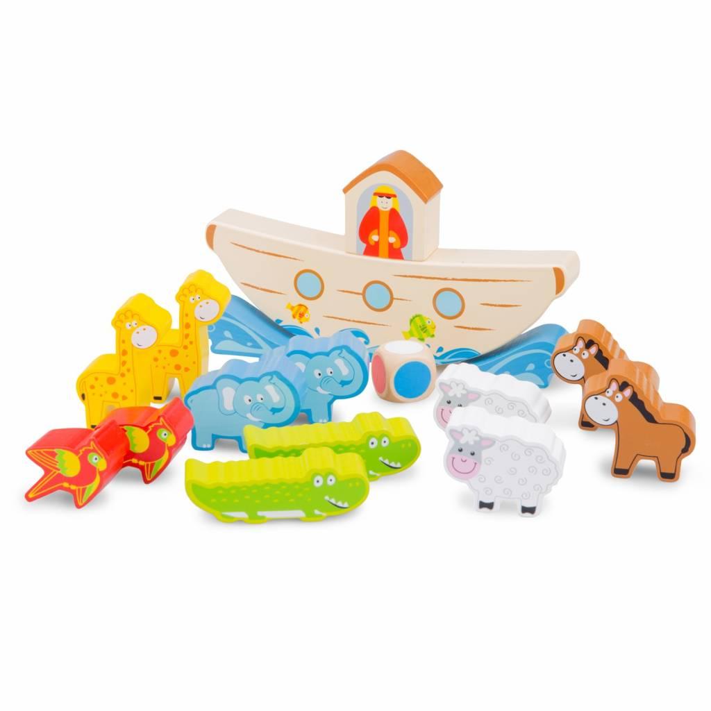 New Classic Toys Balansspel - Ark van Noach