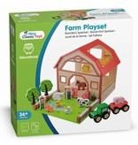 New Classic Toys Boerderij Speelset van Hout