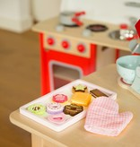 New Classic Toys Koekjes Set met Ovenwant - 10 delig