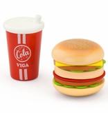 Viga Toys - Speelset - Hamburger en Cola