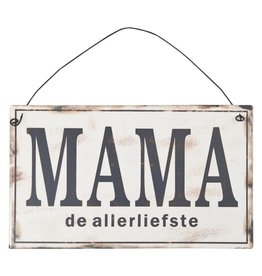Clayre & Eef Tekstbord Mama