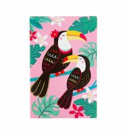 Sass & Belle Notebook A5 Tiki Toucan