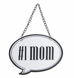 Clayre & Eef Tekstbord #1 MOM