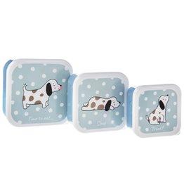 Sass & Belle Snackbox Set/3 Barney the Dog