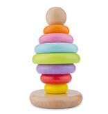 New Classic Toys Stapeltoren - Regenboog