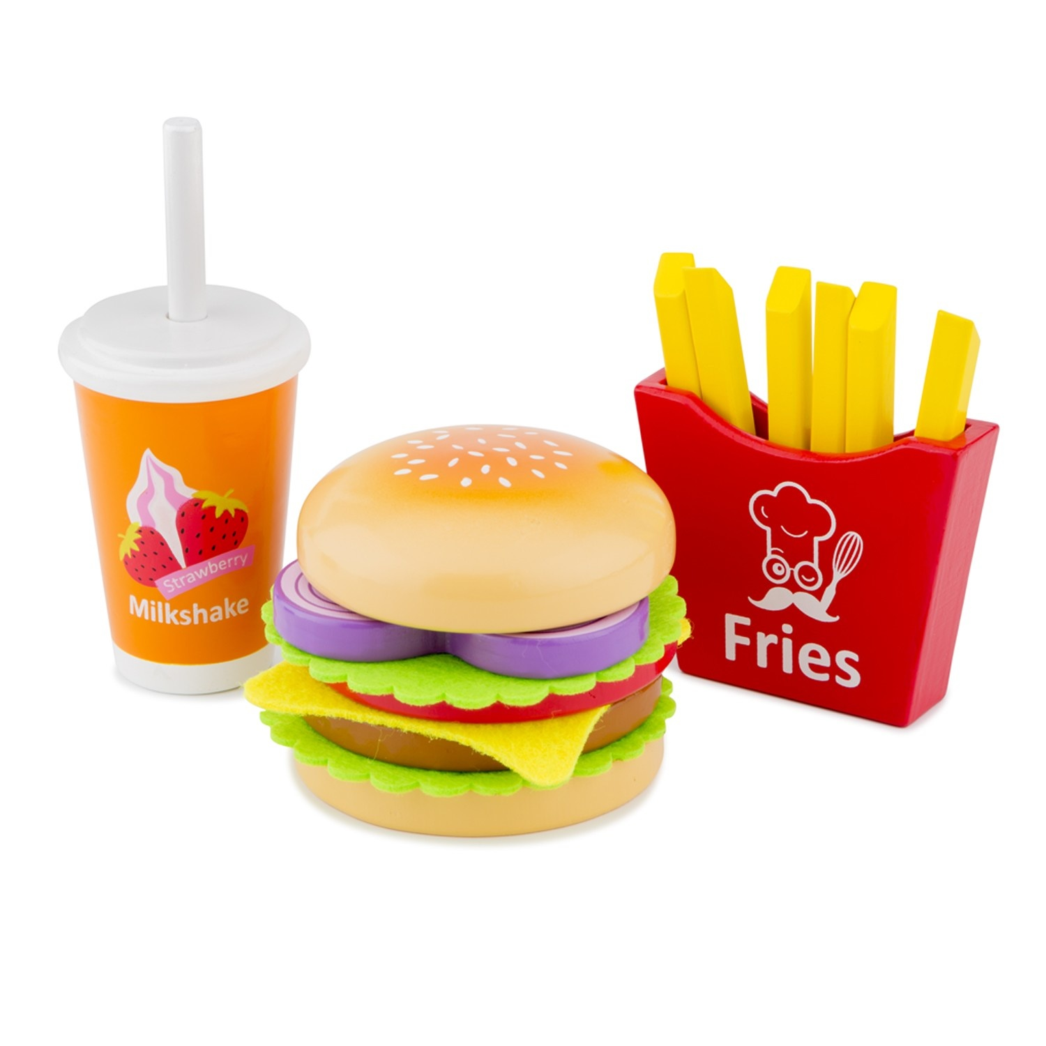 New Classic Toys Fast food set