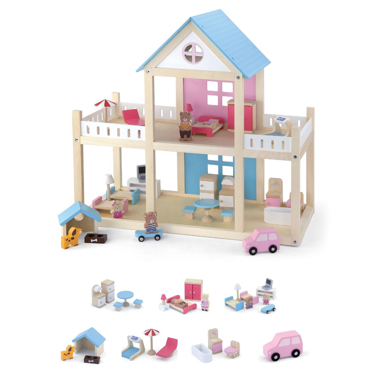 Viga Toys  Poppenhuis