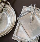 Mars & More dienblad silver look langwerpig 80x13cm