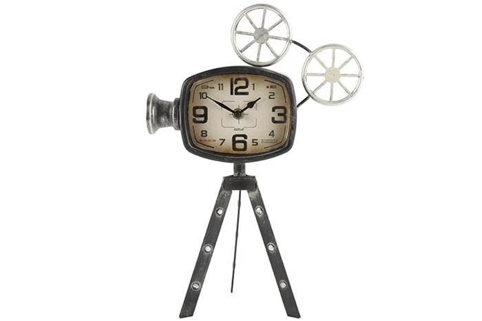 Countryfield Tafelklok filmcamera Keaton grey