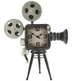 Countryfield Tafelklok filmcamera Buster grey
