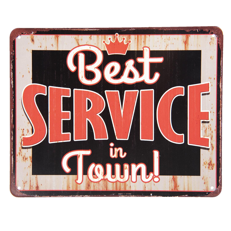 Clayre & Eef Tekstbord Best Service in Town