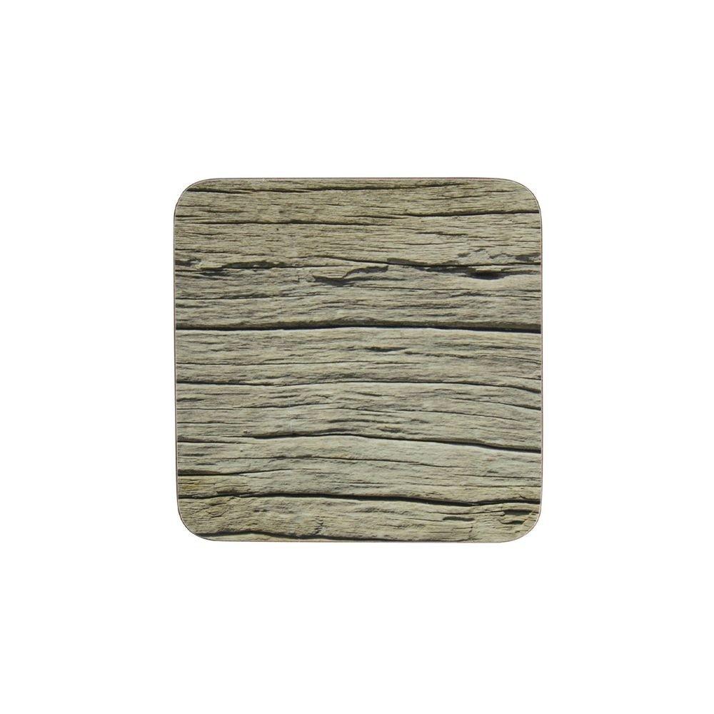 Mars & More Onderzetter oud hout Set/6