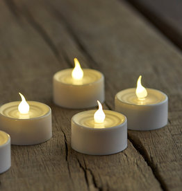 Sirius Home 4-pack white Tea lights (for remote)