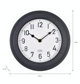 Garden Trading Tenby Clock Carbon Outdoor