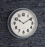 Garden Trading Indoor/Outdoor Wall Clock Galvanised Steel
