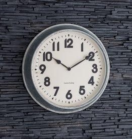 Garden Trading Indoor/Outdoor Wall Clock Galvanised Steel