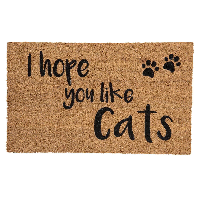 Clayre & Eef Deurmat I hope you like cats