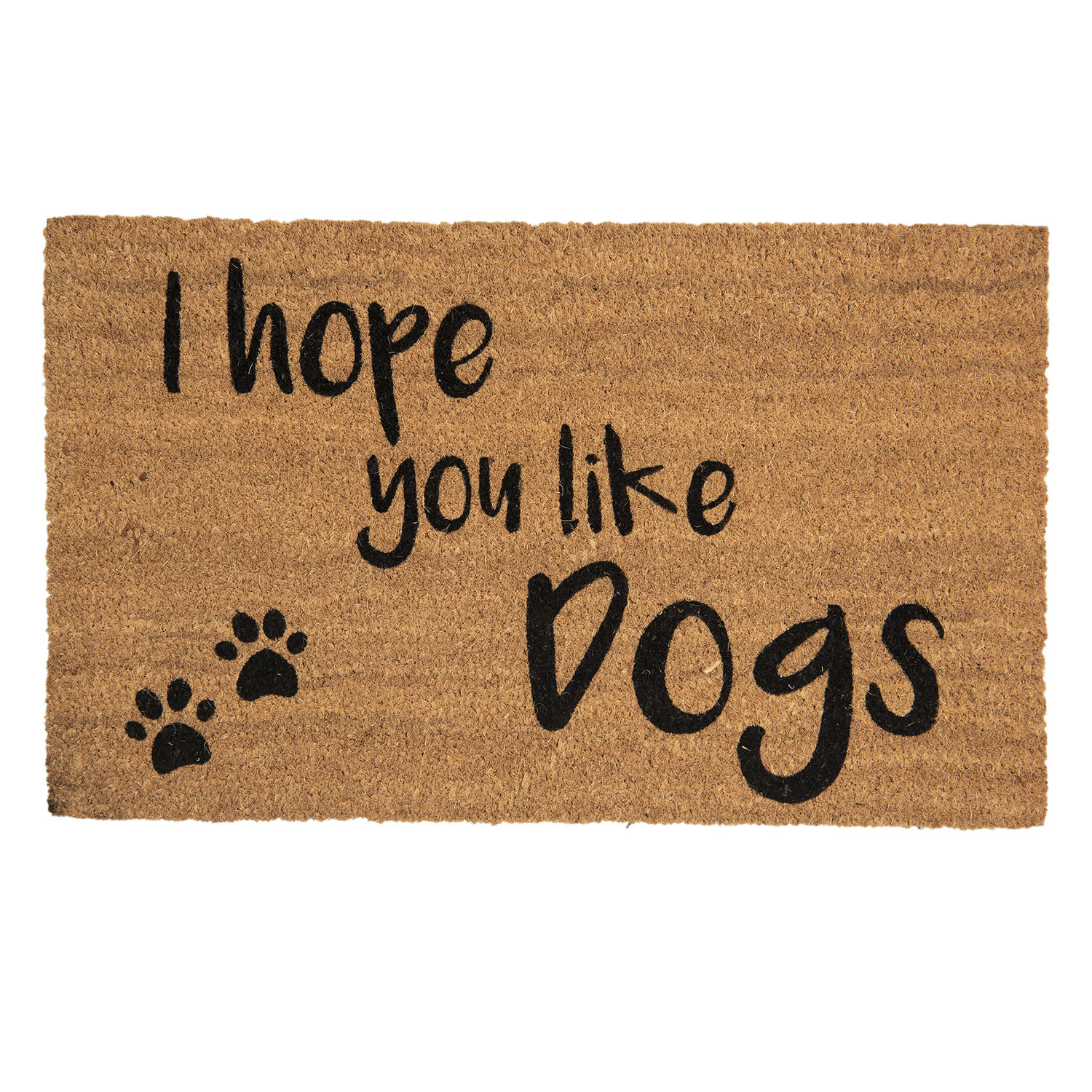 Clayre & Eef Deurmat I hope you like dogs