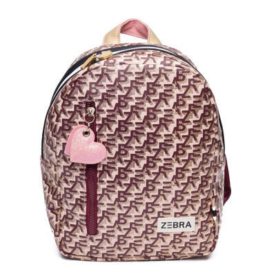 ZEBRA Rugzak (S) - Zebra printing pink