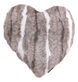 Mars & More Kussen hart konijn 45x45 cm