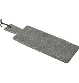 J-line Plank Rechthoek Marmer Grijs