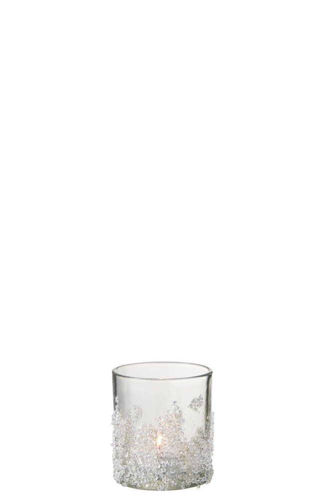 J-line T-Lichthouder Suiker Onderaan Glas Small
