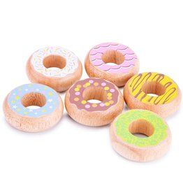 New Classic Toys Donuts - 6st.