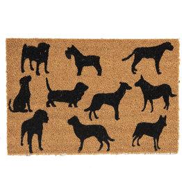 Clayre & Eef Deurmat Honden