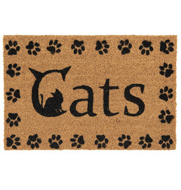Clayre & Eef Deurmat Cats