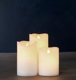 Sirius Home Sara Exclusive white Set/3 moveable flame