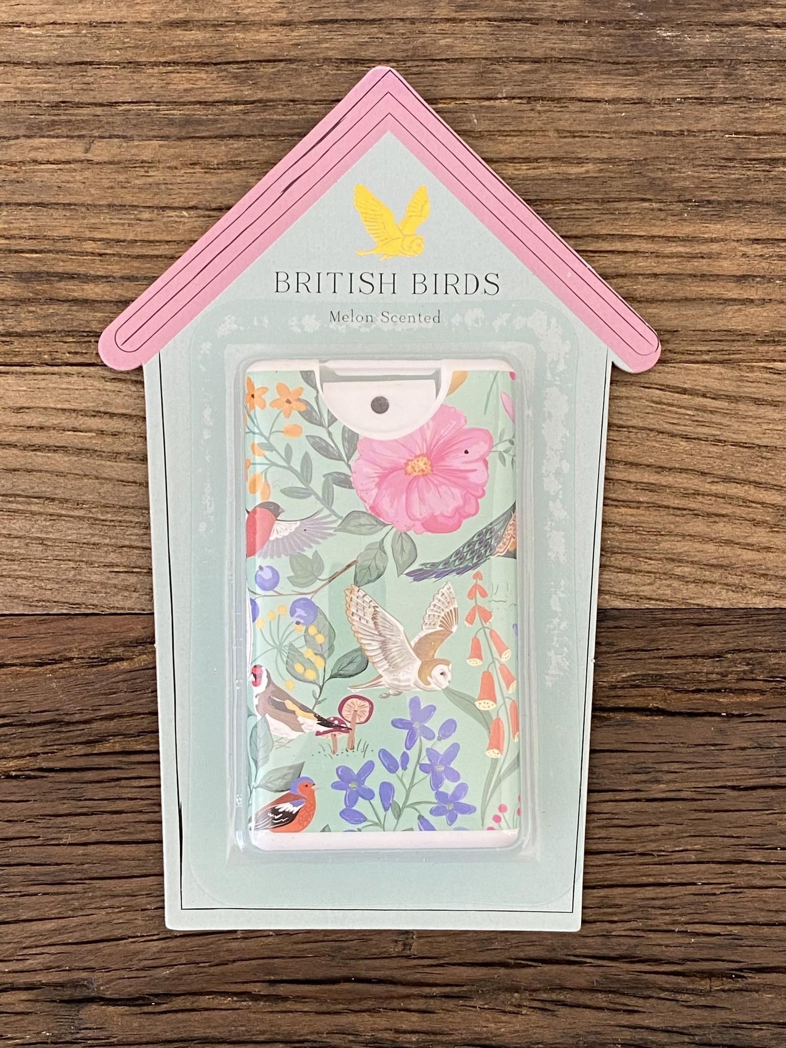 CGB Giftware Desinfectie handgel British Birds Coconut Navulbaar