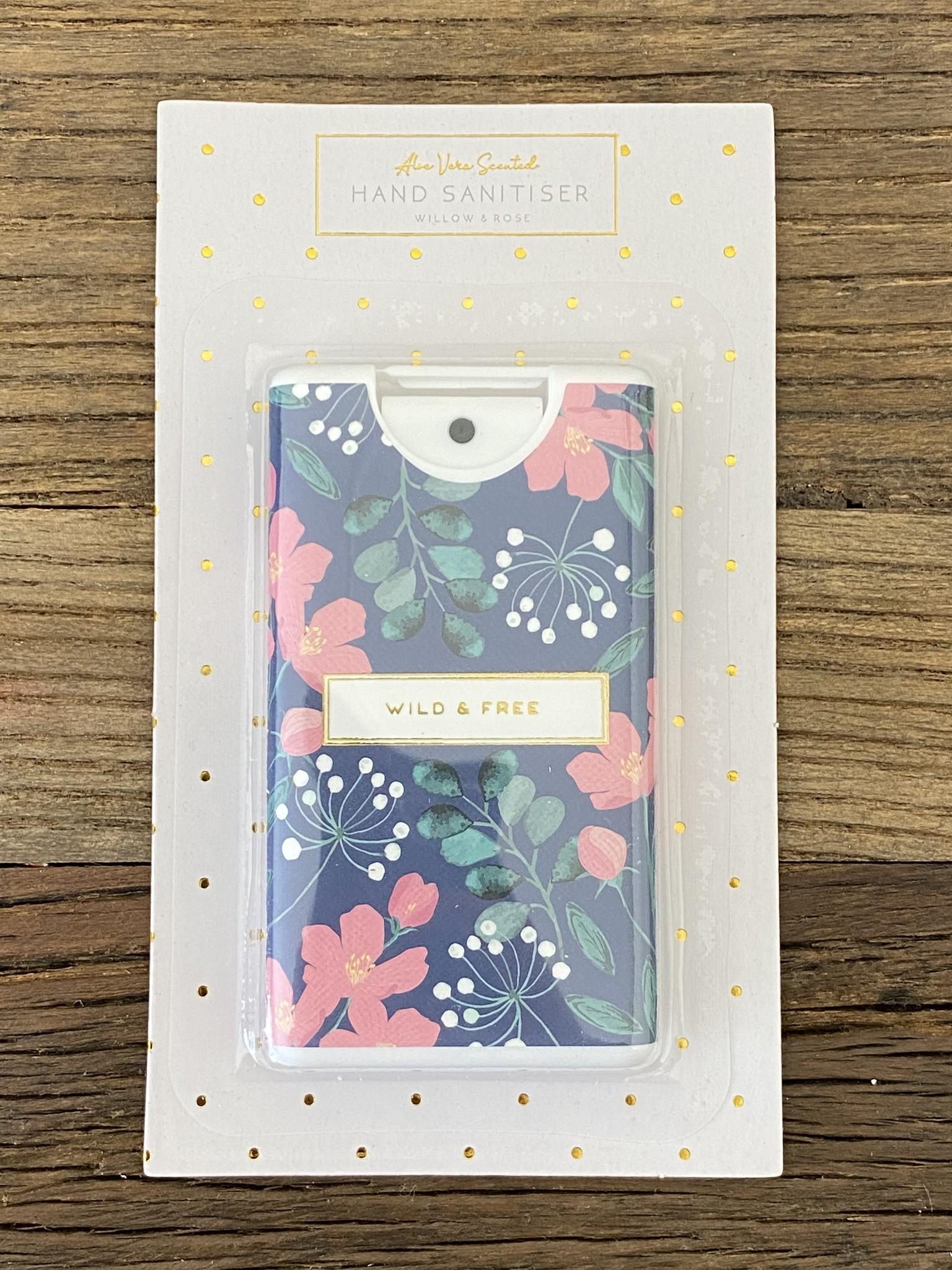 CGB Giftware Desinfectie handgel Willow & Rose Wild&Free