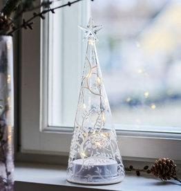 Sirius Home Cozy Tree, glass, H22cm