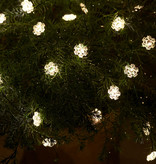 Sirius Home Nynne Snowflake String Light 3,9m/40 LED green
