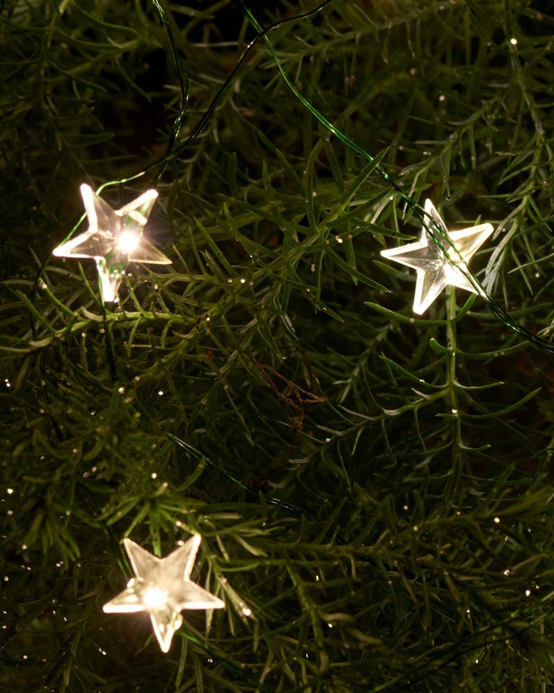 Sirius Home Trille Star String Light 3,9 m/40 LED green