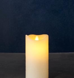 Sirius Home Sara Exclusive almond Ø:7,5 H:15cm moving flame