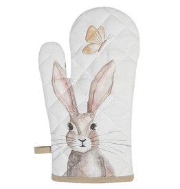 Clayre & Eef Ovenhandschoen Rustic Easter Bunny
