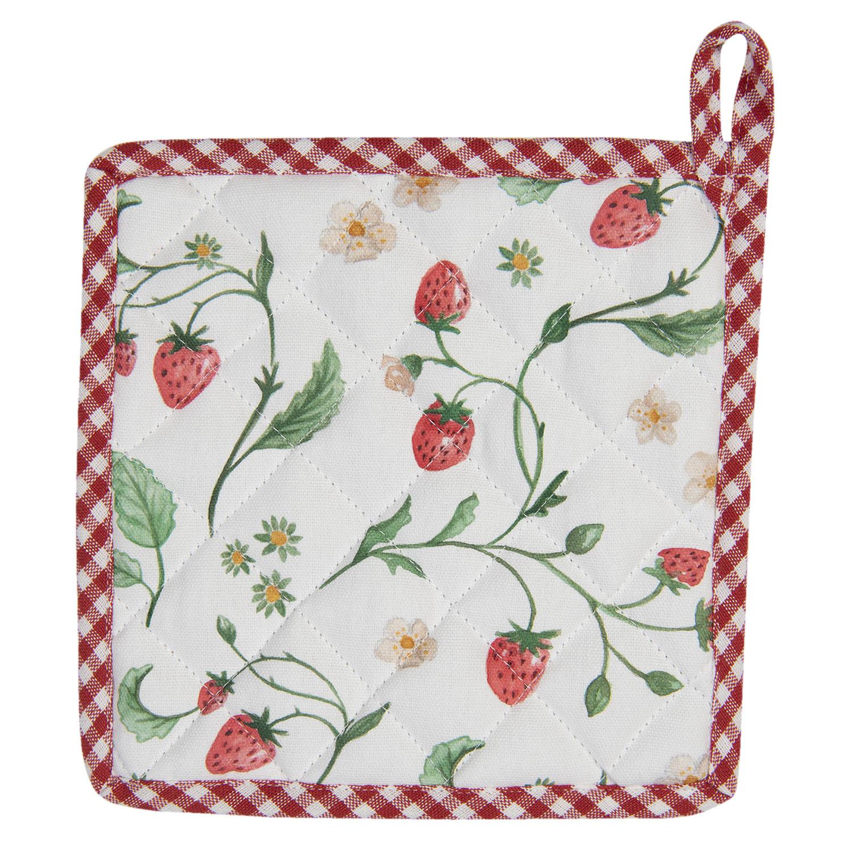 Clayre & Eef  Pannenlap  Wild Strawberries