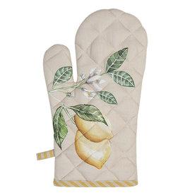 Clayre & Eef Ovenhandschoen Lemons and leafs